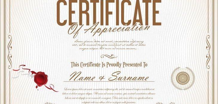 Las diferencias entre un certificado, grado y diploma